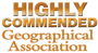 Geographical Association 'Highly Commended'